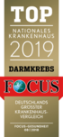 Siegel: TOP Focus 2019 - Nationales Krankenhaus Darmkrebs