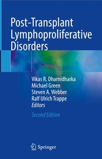 Cover Lehrbuch: Post-Transplant Lymhoproliferative Disorder // Mitherausgeber Professor Dr. Ralf Ulrich Trappe vom DIAKO